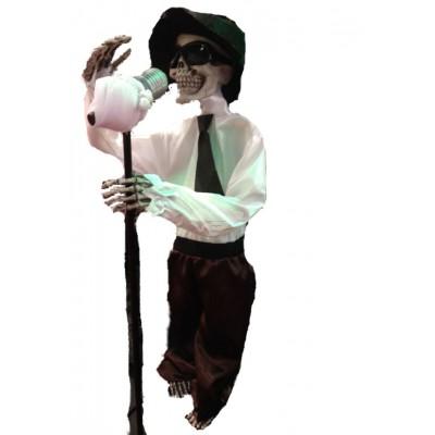 """Halloween Skelett """"Groove"""", animiert"""