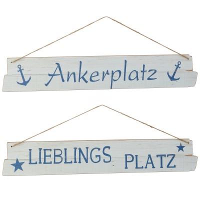 Holzschild ''Platz'', versch. Designs