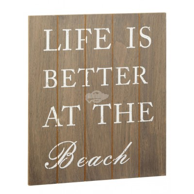 Bild Life is better at beach