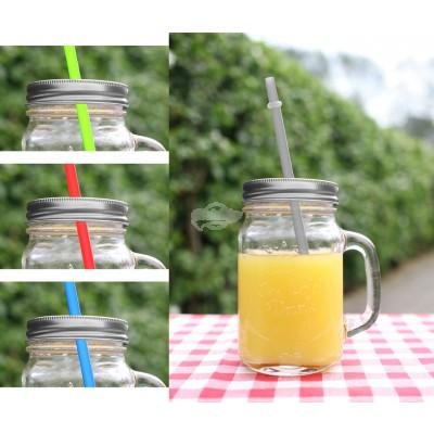 """Trinkglas """"silber"""" - versch. Farben"""