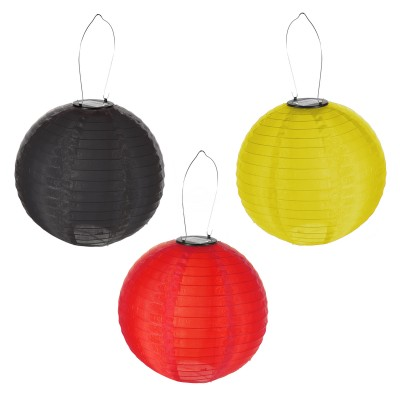 "LED Solar Lampion ""Deutschland"" OUTDOOR"