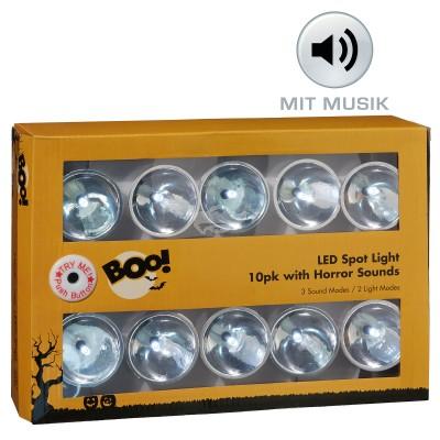 Halloween LED Lichterkette - mit Musik