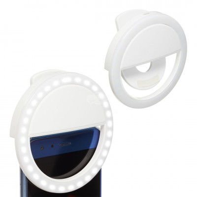 "LED Selfie ""Ring Light"" mit 36 LED"