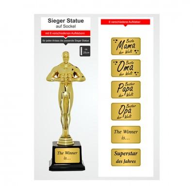 Sieger Statue - gold