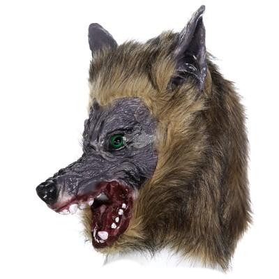 """Maske """"Werwolf"""" - mit weichem Kunstfell"""