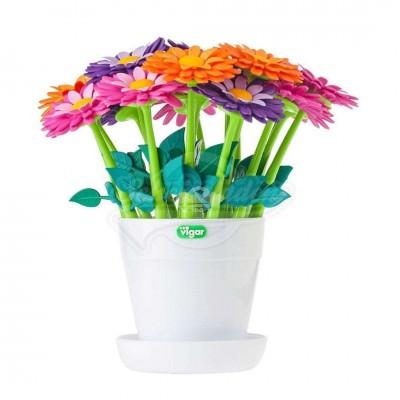 """Kugelschreiber """"Flower Power"""" - versch. Farben"""