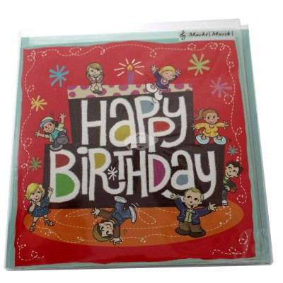 "Musikkarte ""Archies Happy Birthday Have Fun"""