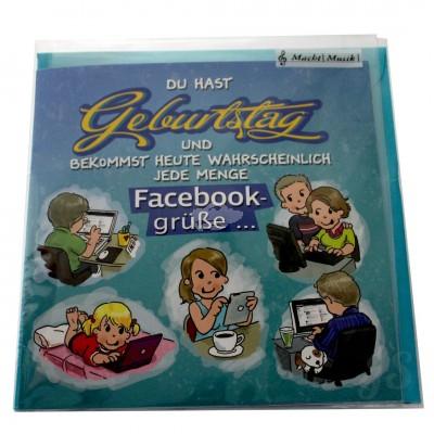 """Musikkarte """"Archies Geburtstag Schöne Karte"""""""
