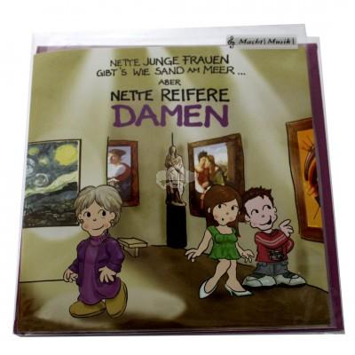 "Musikkarte ""Archies Geburtstag Nette reifere Damen"""