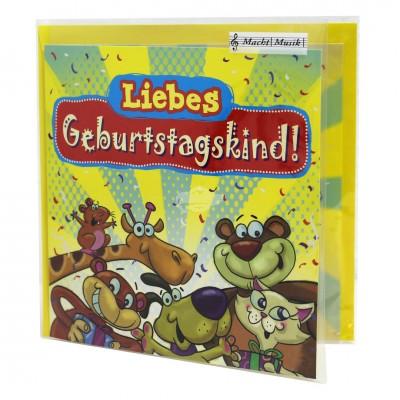 """Hit Mix Klappkarten """"Liebes Geburtstagskind"""""""