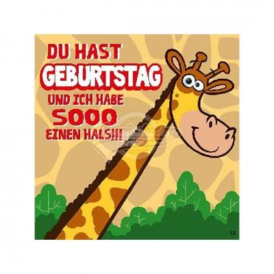 """Hit Mix Klappkarten """"Du hast Geburtstag"""""""