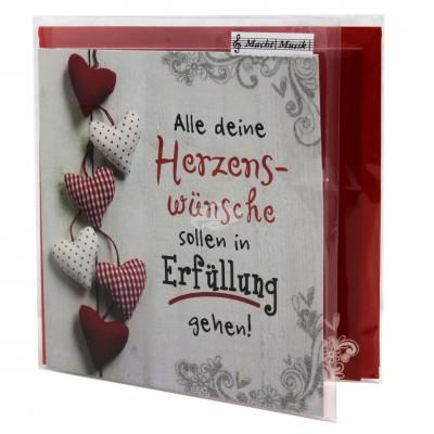 """Hit Mix Klappkarten """"Herzenswünsche"""""""