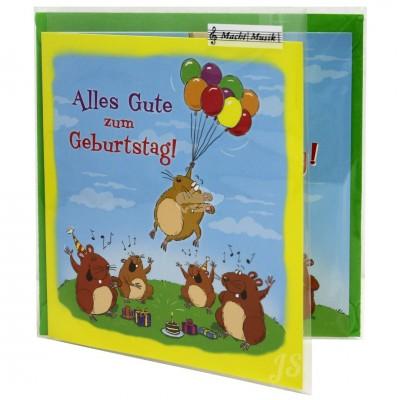 """Hit Mix Klappkarten """"Alles Gute zum Geburtstag"""""""