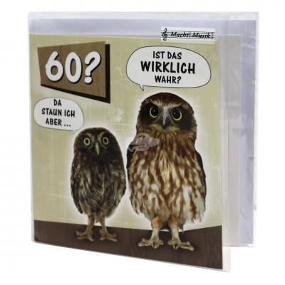 """Hit Mix Klappkarten """"60 Ist das wirklich wahr"""""""