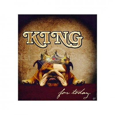 "Hit Mix Klappkarten ""King for today"""
