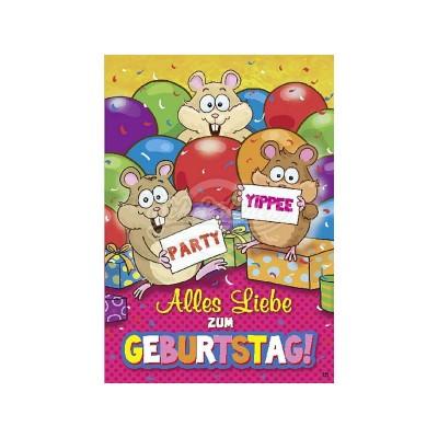 """Musikkarten mit Überraschung """"Alles Liebe zum Geburtstag"""""""