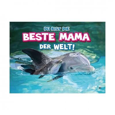 """3D Postkarte """"Beste Mama der Welt"""""""