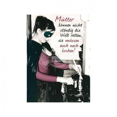 """Postkarte Undercover """"Mütter"""""""