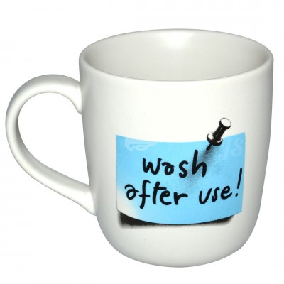 "Tasse ""Wash After Use"""