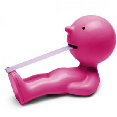 Klebebandabroller Mr. P ''One Man Try'' - Pink