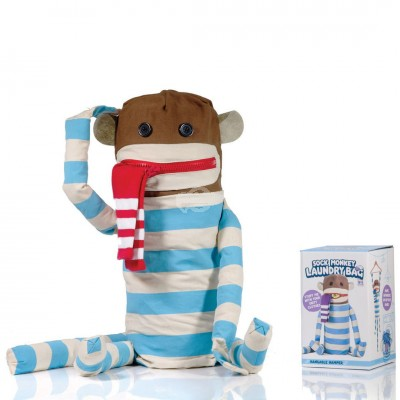 "Wäschesack ""Sock Monkey Laundry Bag"""