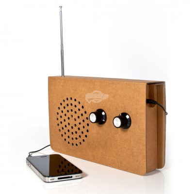 "Suck UK -""Radio & MP3 Speaker"" Karton Radio und MP3 Player"
