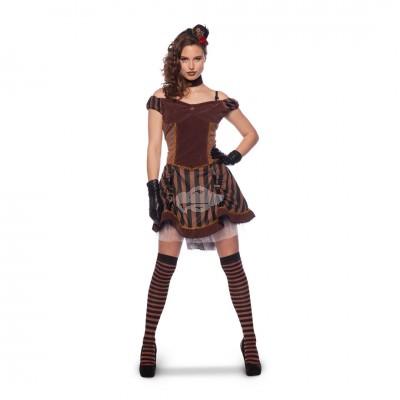 Steampunk-Kleid S/M