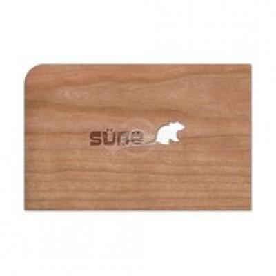 """Grußkarte aus Holz """"Süße Maus"""" mit Umschlag"""