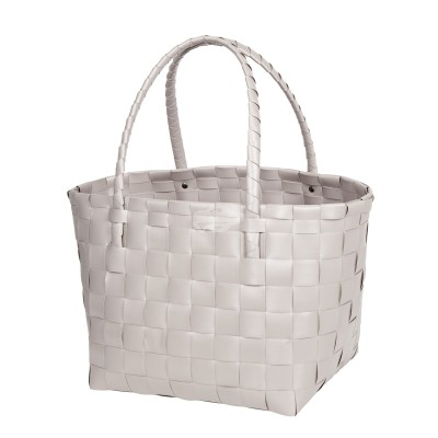 "Handed by - Tasche Shopper ""Paris"" pale grey S"