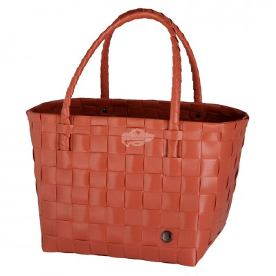 "Handed by - Tasche Shopper ""Paris - fat strap canyon clay"" - S"