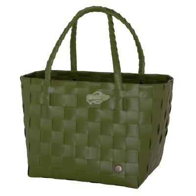 "Handed by - Tasche Shopper ""Paris"" hunting green S"