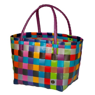 "Handed by - Tasche Shopper ""Paris"" multi mix size S"