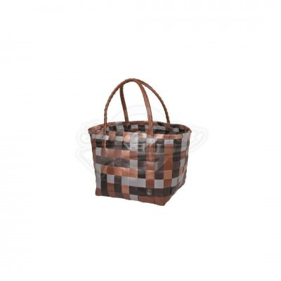 "Handed by - Tasche Shopper ""Paris"" maroon mix - S"