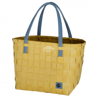 "Handed by - Tasche ""Color Block"" Mustard - S"
