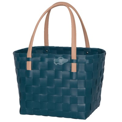 "Handed by - Tasche Shopper ""Color Block"" midnight blue S"