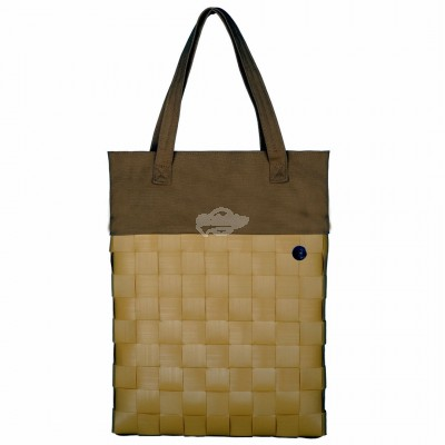 "Handed by - Tasche Shopper ""Urban - fat strap"" mustard - S"