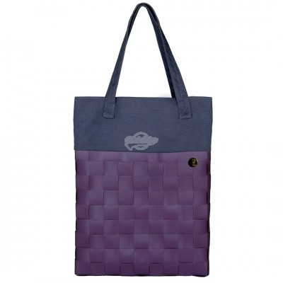 "Handed by - Tasche Shopper ""Urban - fat strap"" mauve - S"