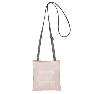 "Handed by - Tasche Umhängetasche ""Festival - Shoulder bag fat strap"" nude - XXS"