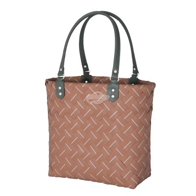 "Handed by - Tasche Shopper ""Intense"" - fat strap copper blush - S"