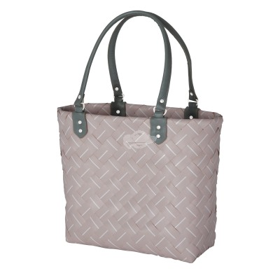 "Handed by - Tasche Shopper ""Intense"" - fat strap nude - S"