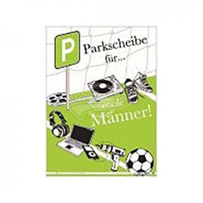 "Parkkarte ""Männerparkhilfe"""