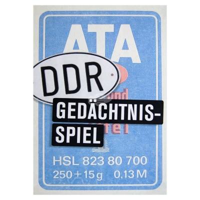 """Spiel Memorie """"DDR-Gedächtnisspiel """""""
