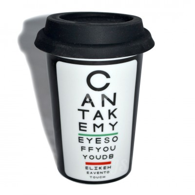 Coffe-to-go Kaffeebecher ''Cant take my eyes off you''