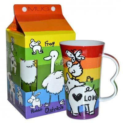 "Kaffeebecher ""Rainbow"""