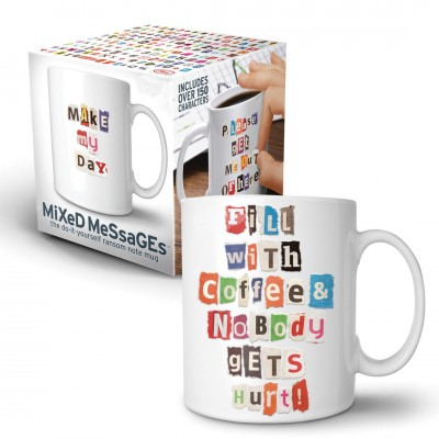Kaffeetasse ''Mixed Messages''