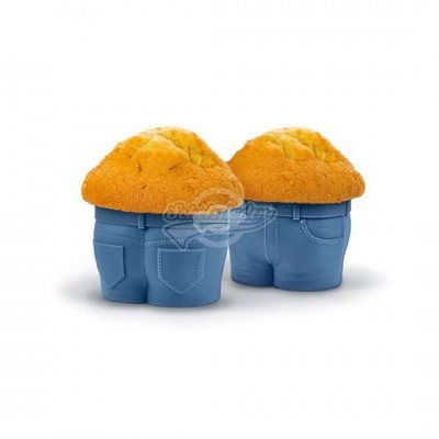 Muffin-Backformen ''Hose'' 4-teilig