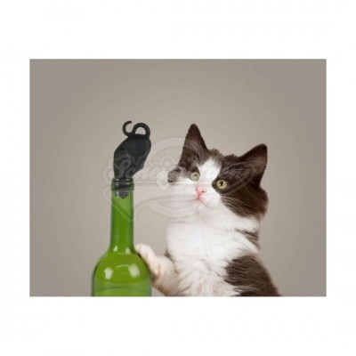 "Flaschenverschluss ""Stop Kitty - Wine stopper"""