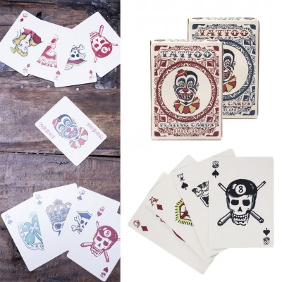 Spielkarten - Tattoo Playing Cards