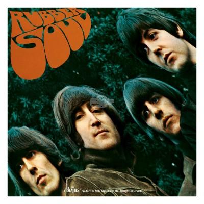 "Untersetzer ""The Beatles"" - Rubber Soul Bierdeckel Getränkeuntersetzer Retro 50s"