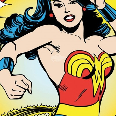 "Untersetzer ""Wonder Woman"" - Action"